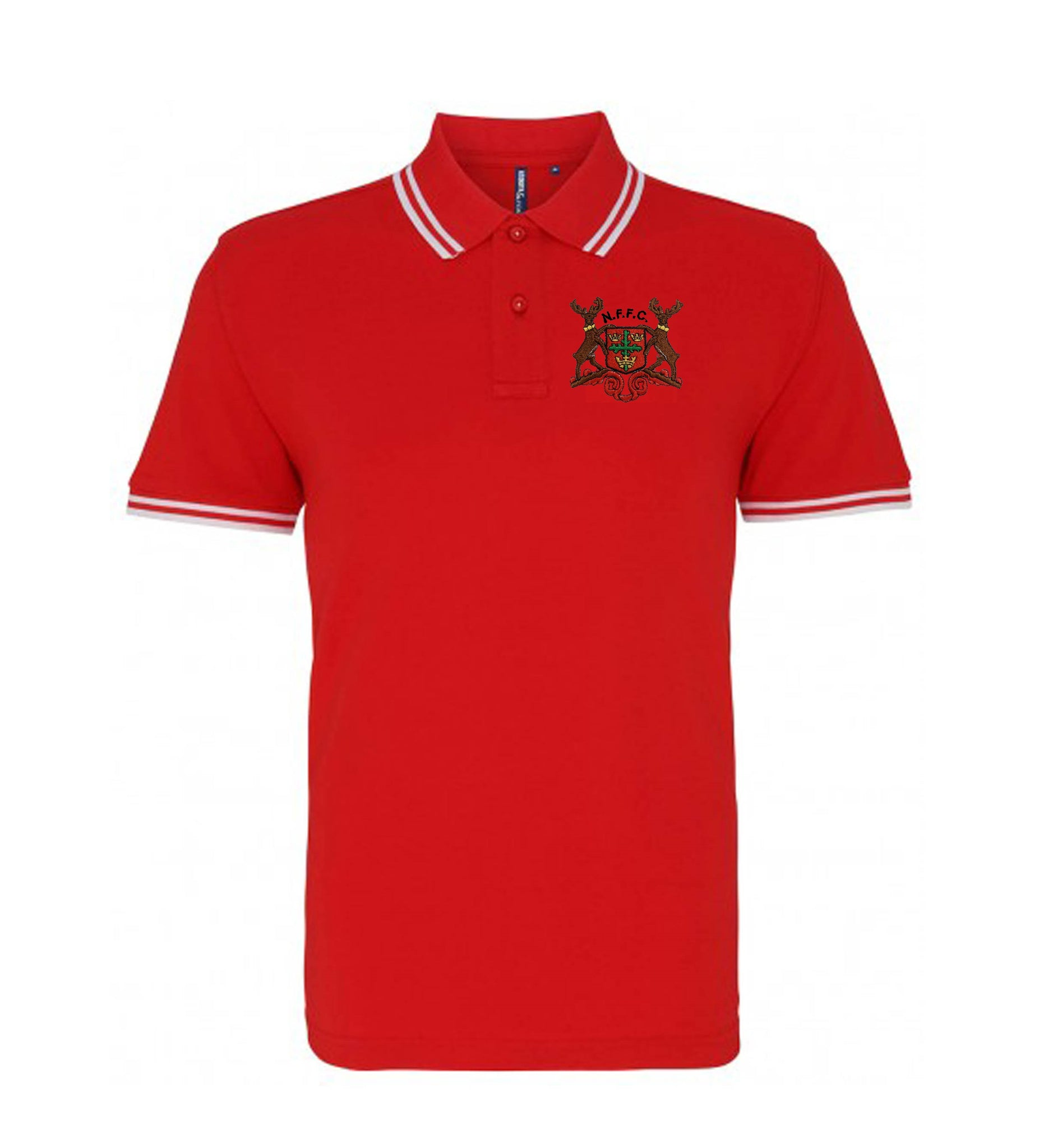 Nottingham Forest Retro Football Iconic Polo 1960-1970s - Polo