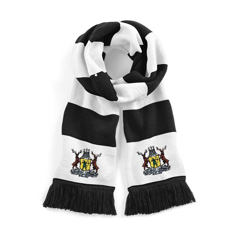 Notts County Retro 1960s / 1970s Football Scarf - Scarf