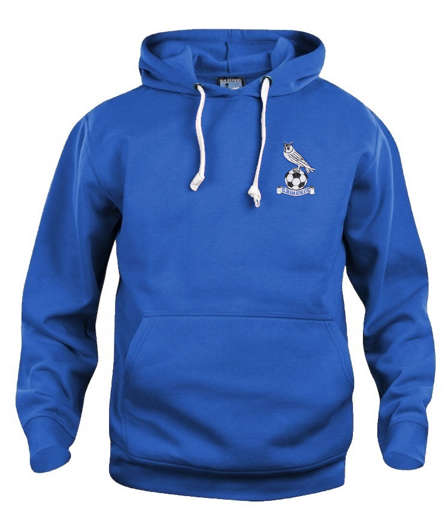 Oldham Athletic Retro Football Hoodie 1970s - 1980s - Hoodie