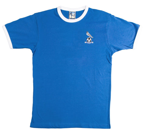 Oldham Athletic Retro Football T Shirt 1970s - 1980s - T-shirt