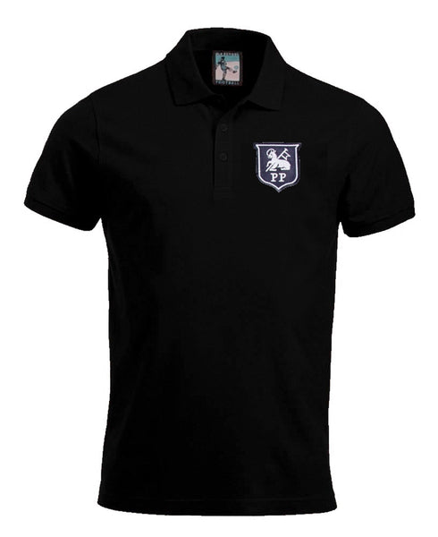 Preston North End Retro 1940 - 1960s Football Polo Shirt - Polo