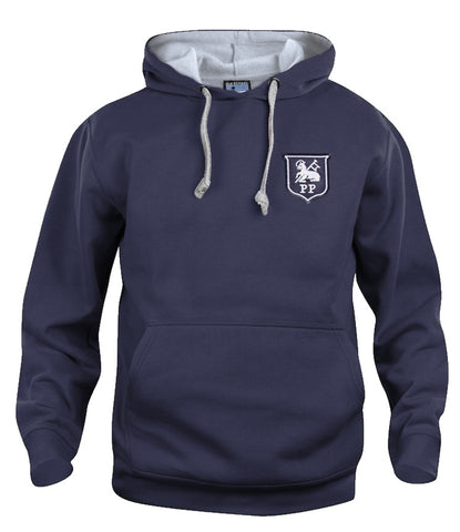Preston North End Retro Football Hoodie 1940s - 1960s