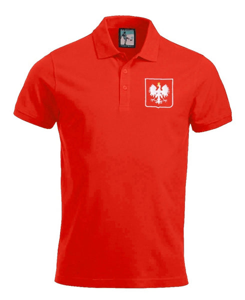 Poland Retro 1960s Football Polo Shirt - Polo