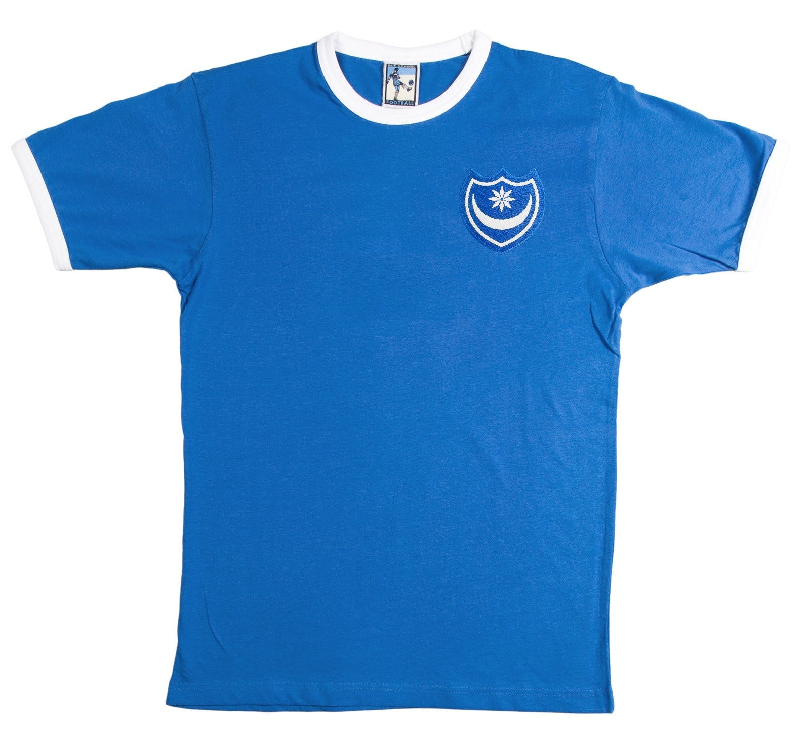Portsmouth Retro Football T Shirt 1960s - T-shirt