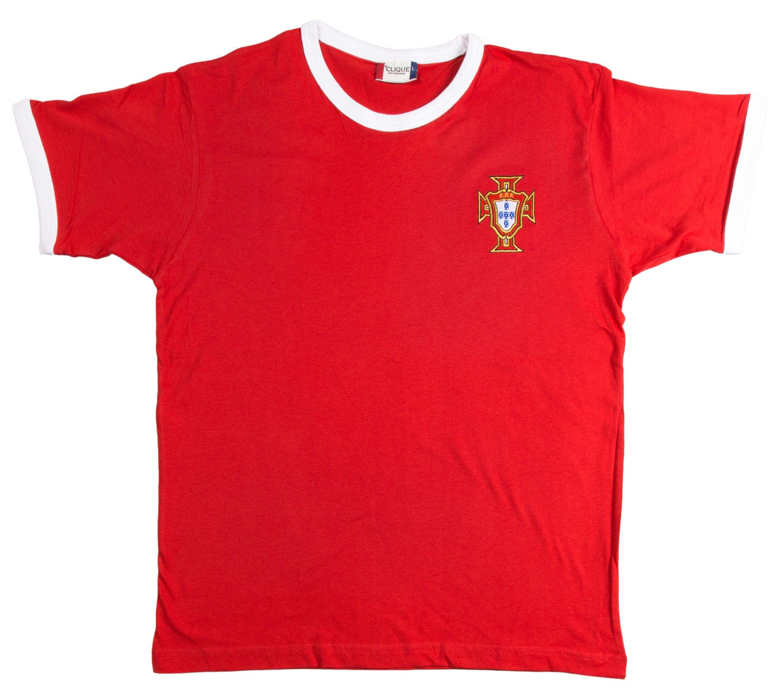 Portugal Retro Football T Shirt 1970s - T-shirt