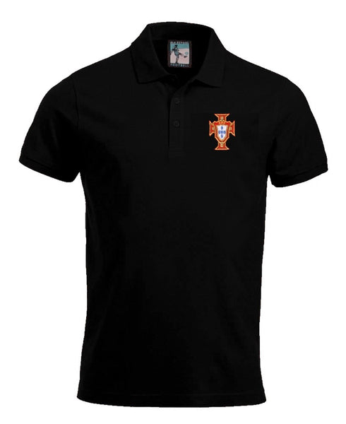 Portugal Retro 1960s Football Polo Shirt - Polo