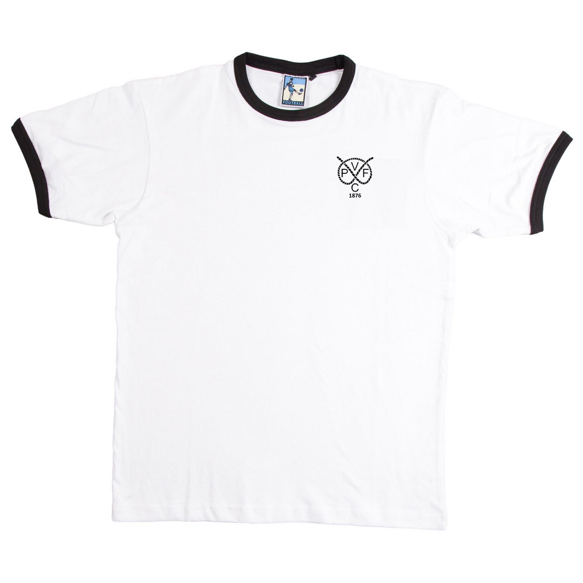 Port Vale Retro Football T Shirt 1876 - T-shirt