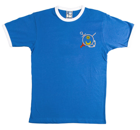 Portsmouth Retro Football T Shirt 1970s - T-shirt