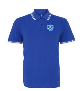 Portsmouth Retro Football Iconic Polo 1960s - Polo