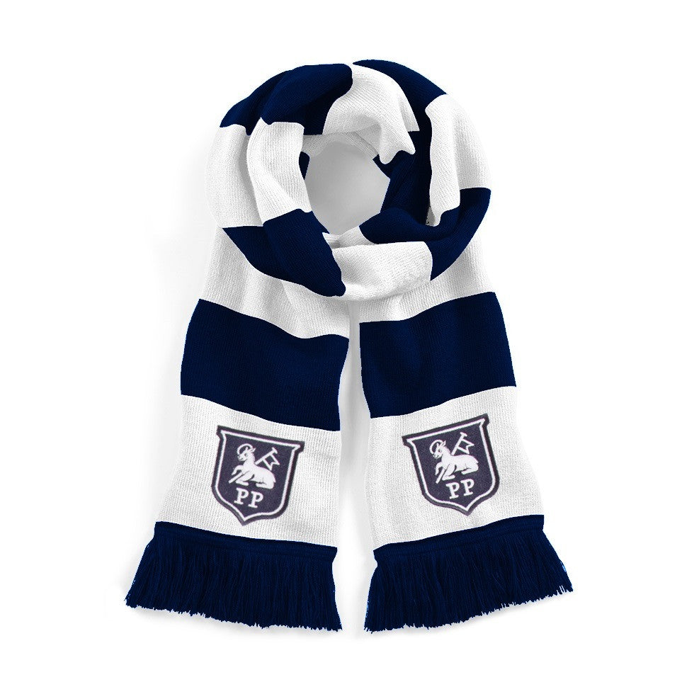 Preston North End Retro Football Scarf - Old School Football