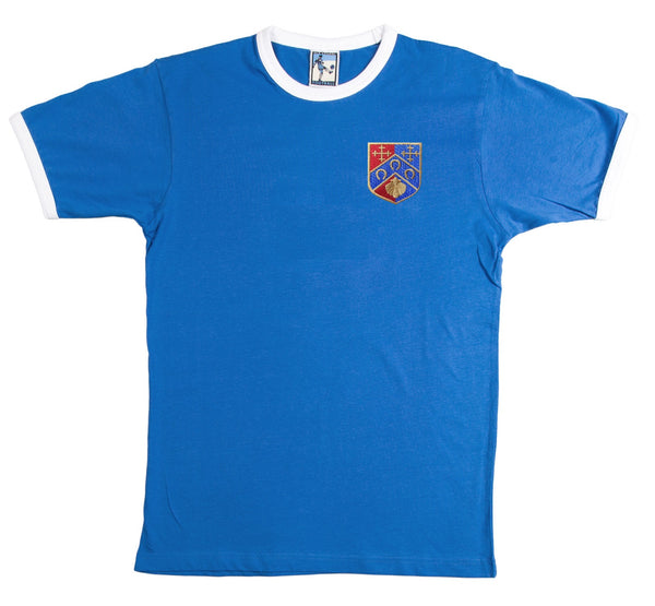 QPR Queens Park Rangers Retro Football T Shirt 1953 - T-shirt