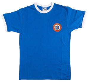 Glasgow Rangers Retro Football T Shirt 1950 - Old School Football