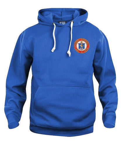 Glasgow Rangers Retro Football Hoodie - Old School Football