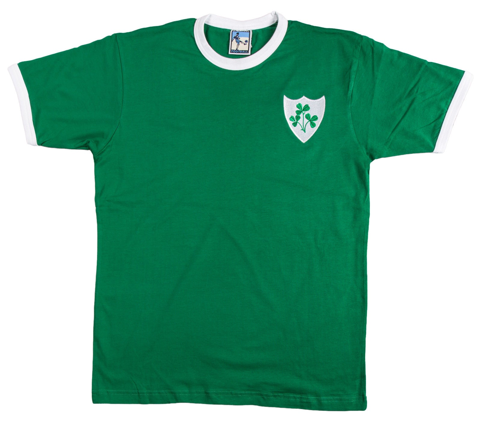 Republic of Ireland Eire Football T Shirt 1970s - Old School Football