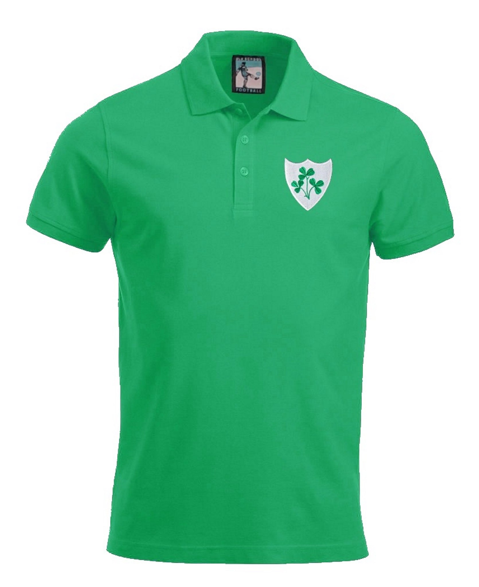 Republic of Ireland Rugby Polo - Old School Football