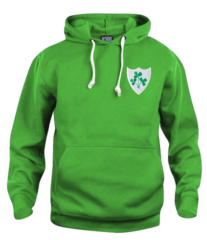 Republic of Ireland Eire Rugby Retro Hoodie - Hoodie