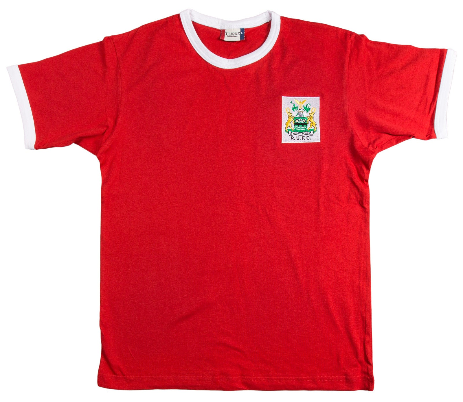 Rotherham United Retro Football T Shirt 1940s - 1950s - Old School Football