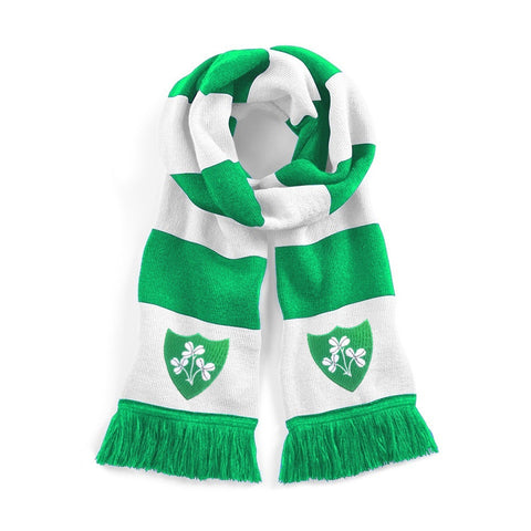 Republic of Ireland Retro 1970s Scarf - Old School Football