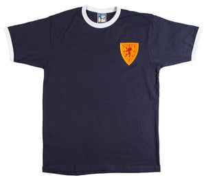 Scotland Retro Football T Shirt 1960s - T-shirt