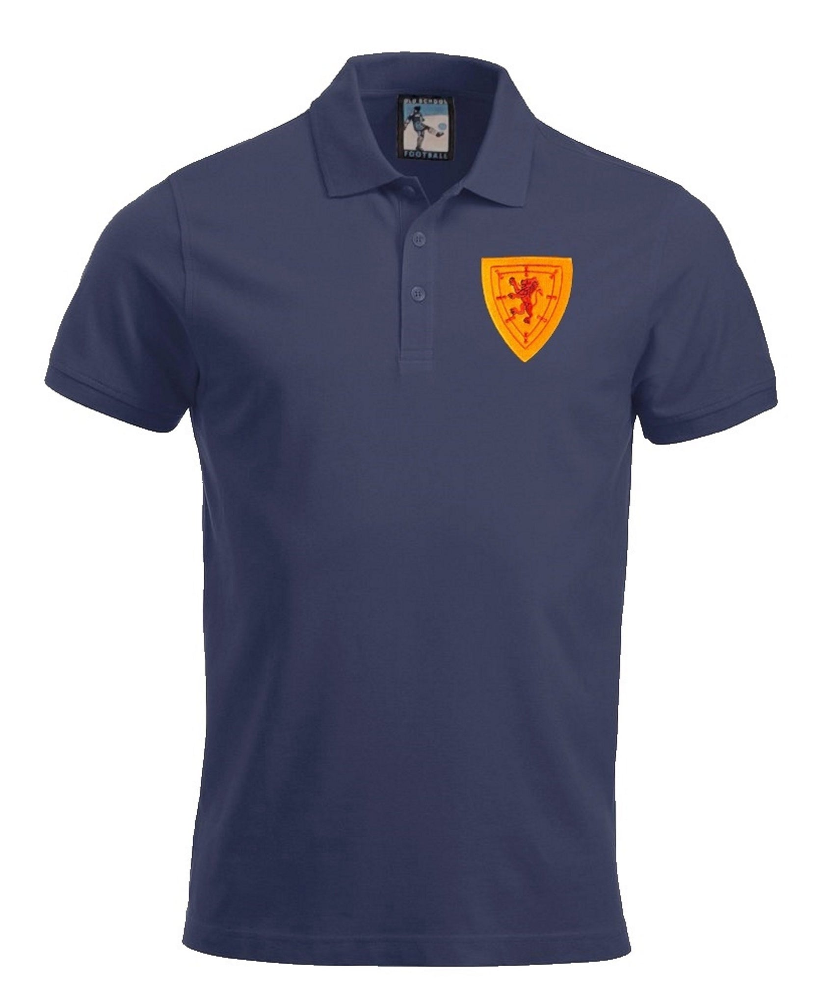 Scotland Retro Football Polo Shirt - Polo