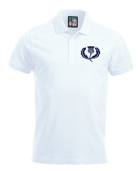 Scotland Retro Rugby Polo Shirt - Polo