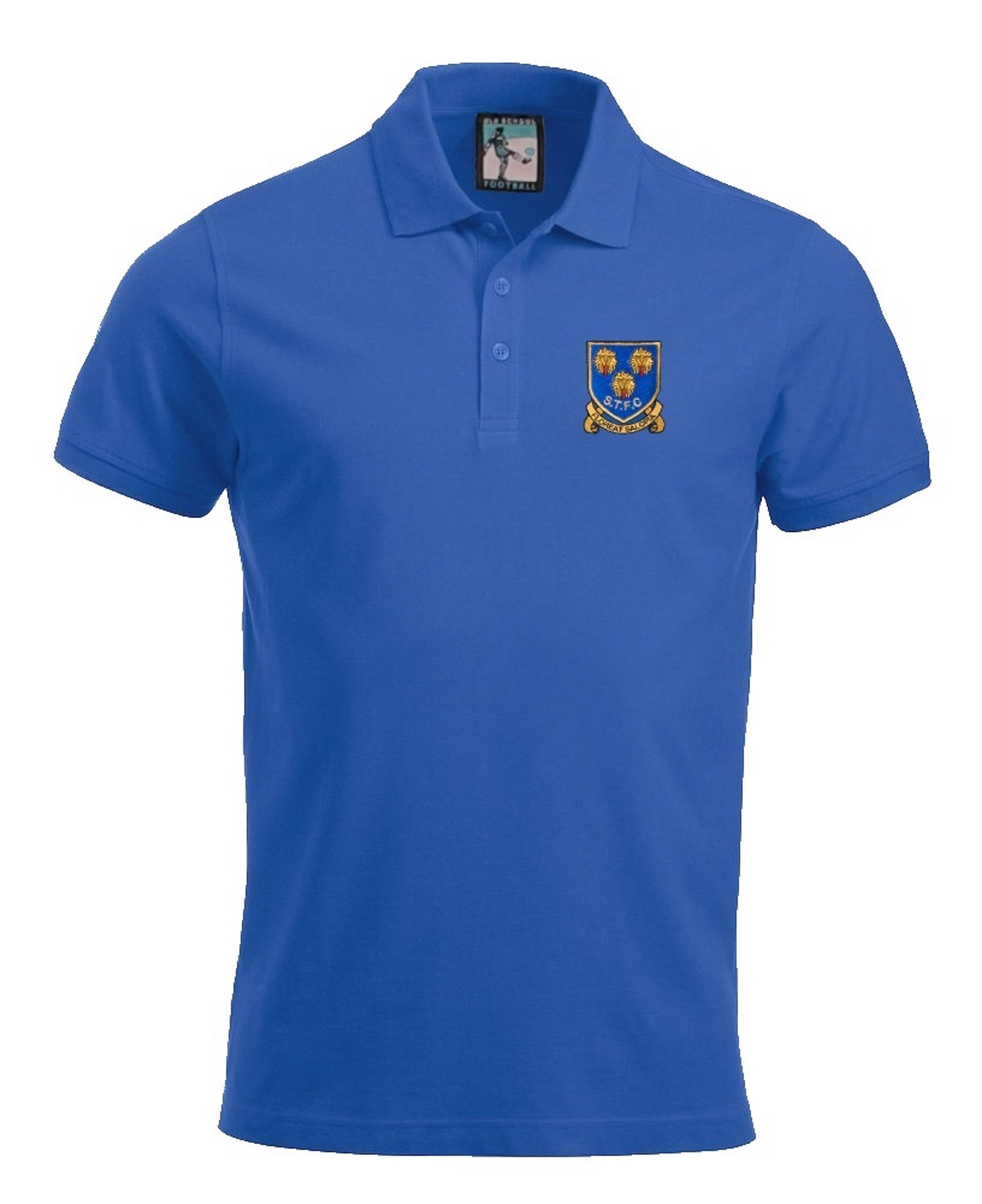Shrewsbury Town Retro 1970s Football Polo Shirt - Polo