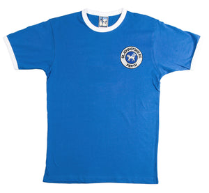 St Johnstone Retro Football T Shirt 1980s - T-shirt