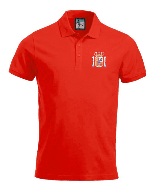 Spain Retro Football Polo Shirt - Polo