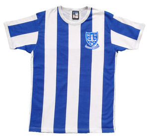 Sheffield Wednesday Retro Football T Shirt 1960s - T-shirt