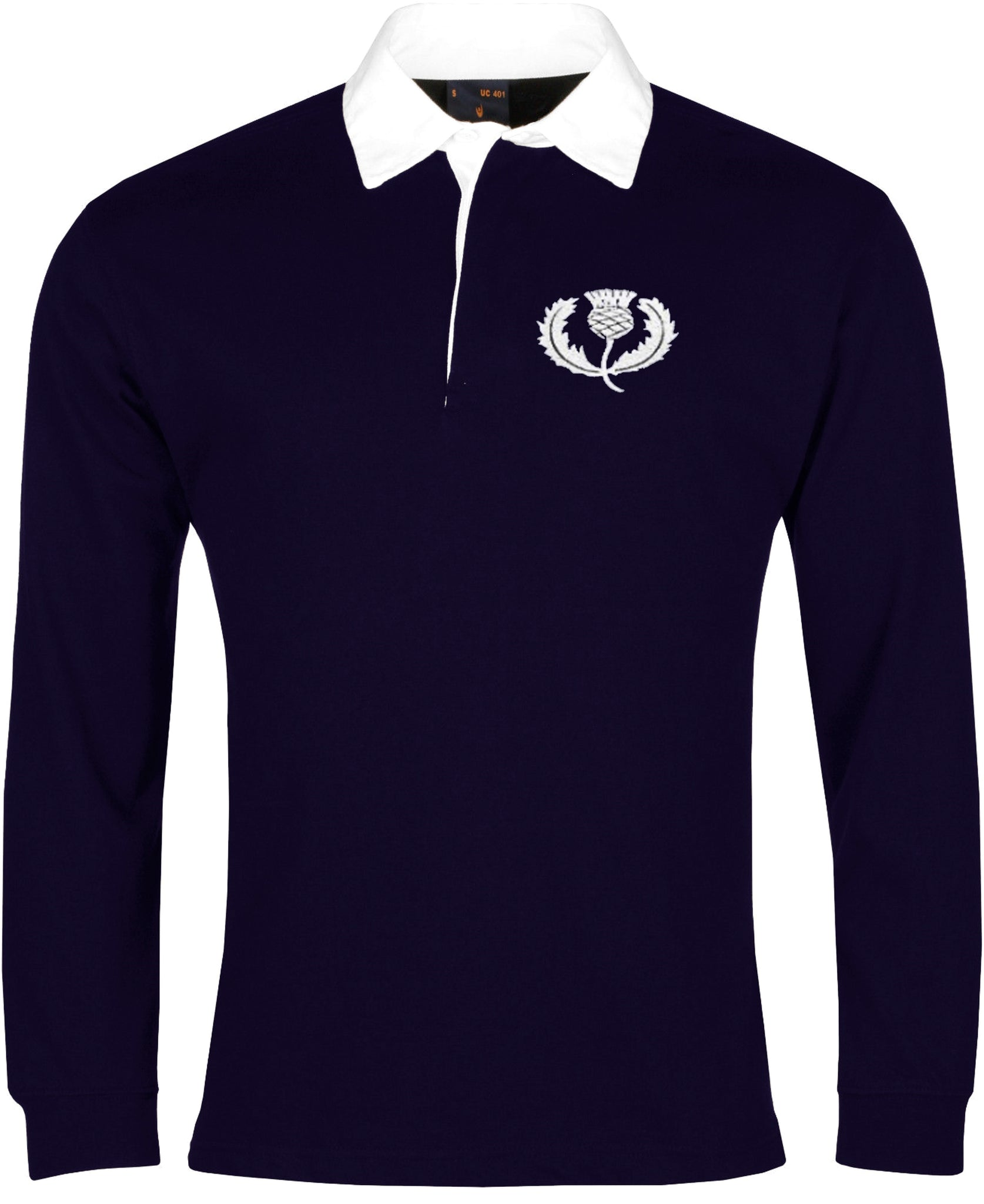 Scotland Retro Rugby Shirt Long-sleeved - Rugby Shirt