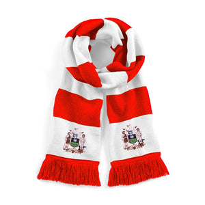 Sheffield United Retro 1960 / 1970s Football Scarf - Scarf