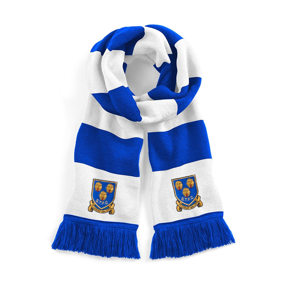 Shrewsbury Town Retro 1993 - 2007 Football Scarf - Scarf
