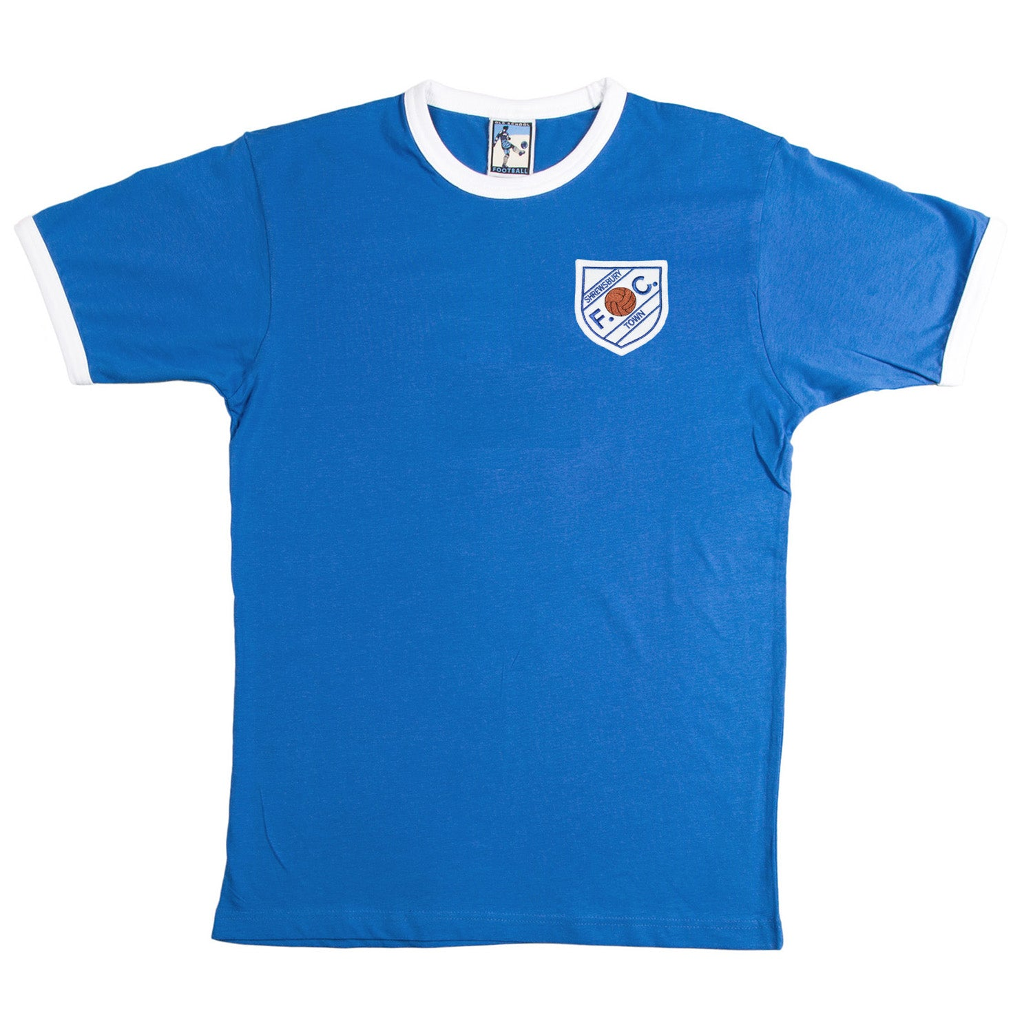 Shrewsbury Town Retro Football T Shirt 1960s - T-shirt