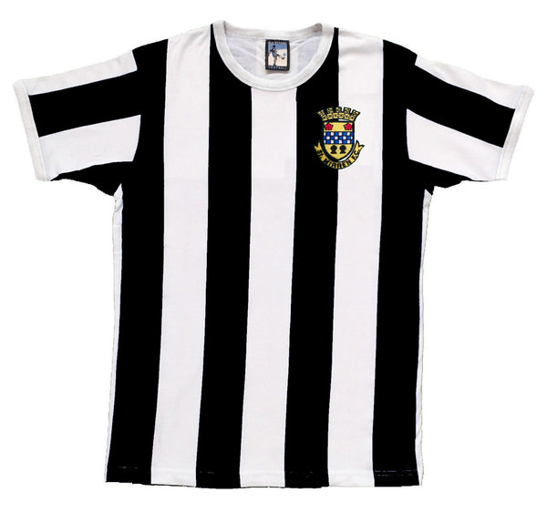 St Mirren Retro Football T Shirt 1944 - 1948 - T-shirt
