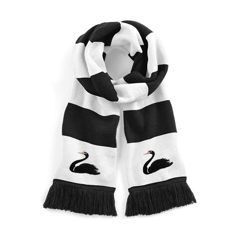 Swansea City Retro Football Scarf 1960s - Old School Football