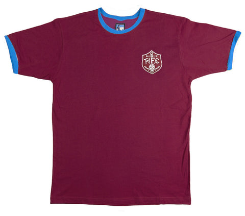 Thames Ironworks (West Ham) Retro Football T Shirt 1895 - T-shirt