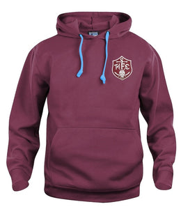 Thames Ironworks (West Ham) Retro Football Hoodie 1895 - Hoodie