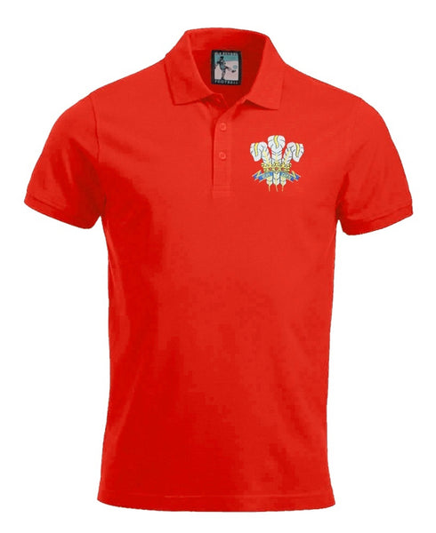 Wales 1970s Rugby Polo - Old School Football