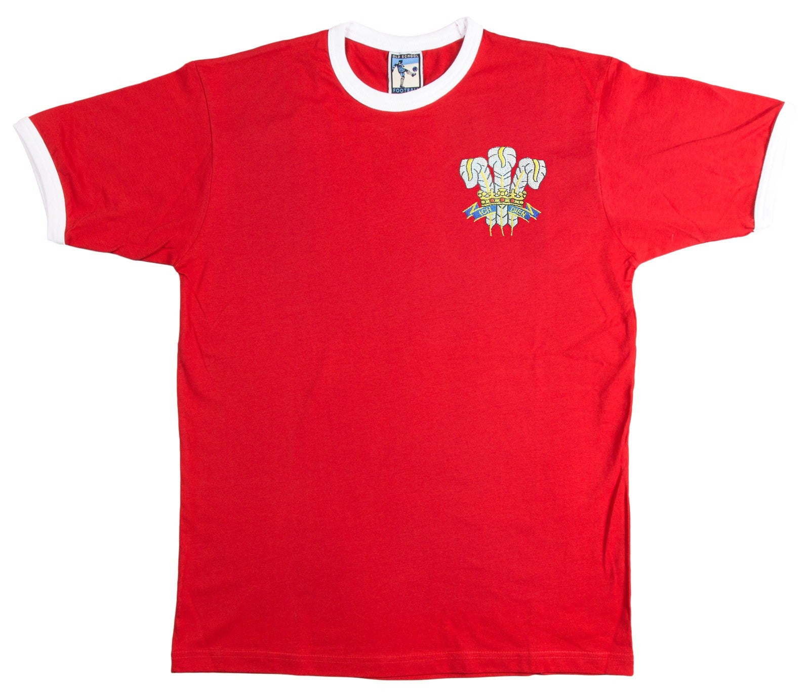 Wales Rugby Retro T Shirt 1970s - T-shirt