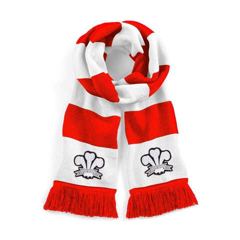 Wales Rugby Retro Scarf - Old School Football