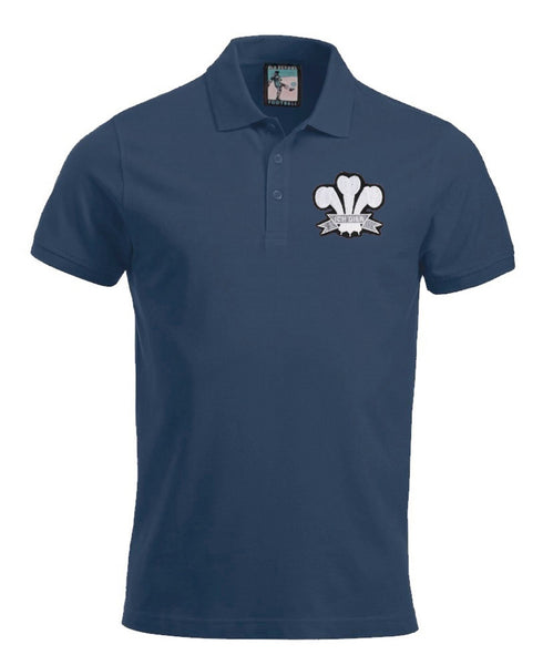 Wales Rugby Retro Football Polo Shirt - Polo