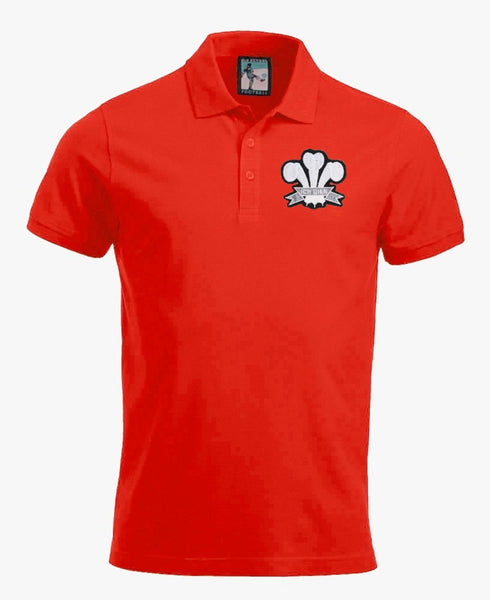 Wales 1900s Rugby Polo - Old School Football