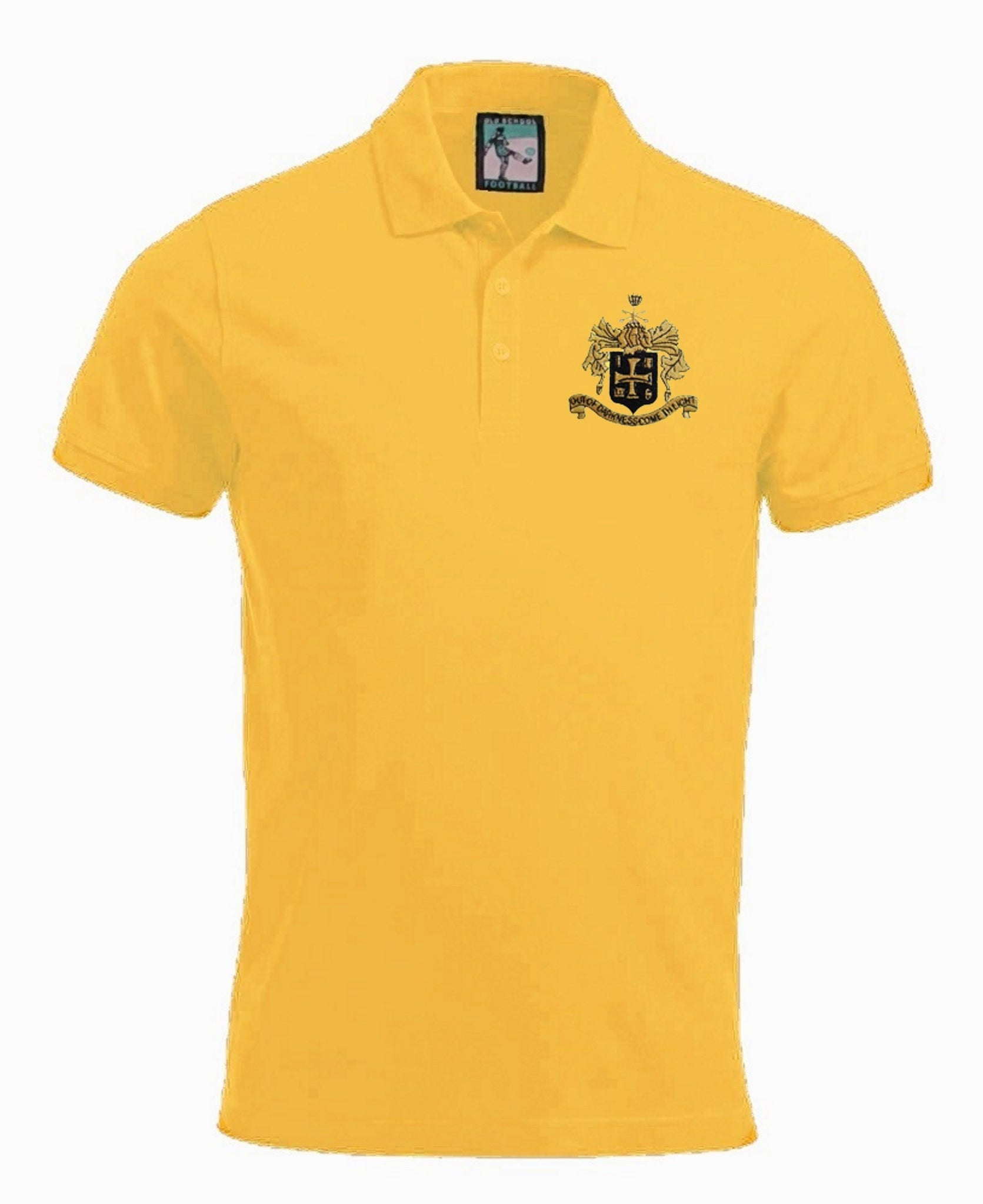 Wolverhampton Wolves Retro 1940s Football Polo Shirt