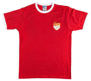 Wrexham Retro Football T Shirt 1960s & 1970s - T-shirt