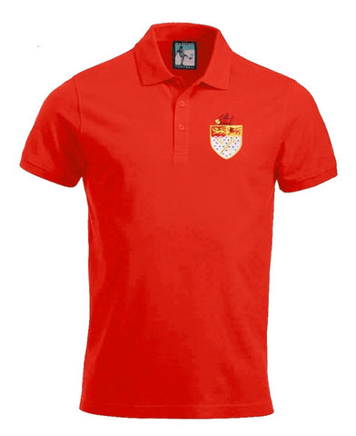 Wrexham Retro 1960s Football Polo Shirt