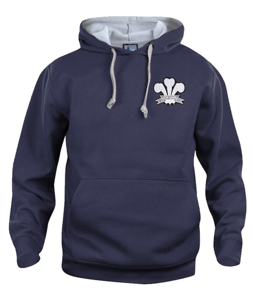 Wales Rugby Retro Hoodie 1900s - Old School Football