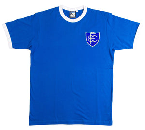 Chesterfield Retro Football T Shirt  1958 - 1959 - T-shirt