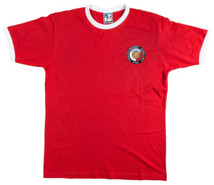 Czechoslovakia Retro Football T Shirt 1980s - T-shirt