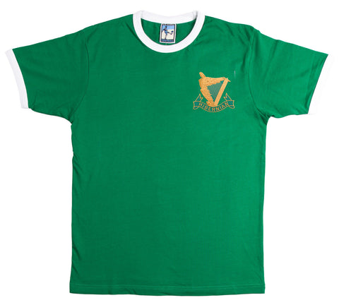 Hibernian Retro Football T Shirt  1902 - 1903 - Old School Football