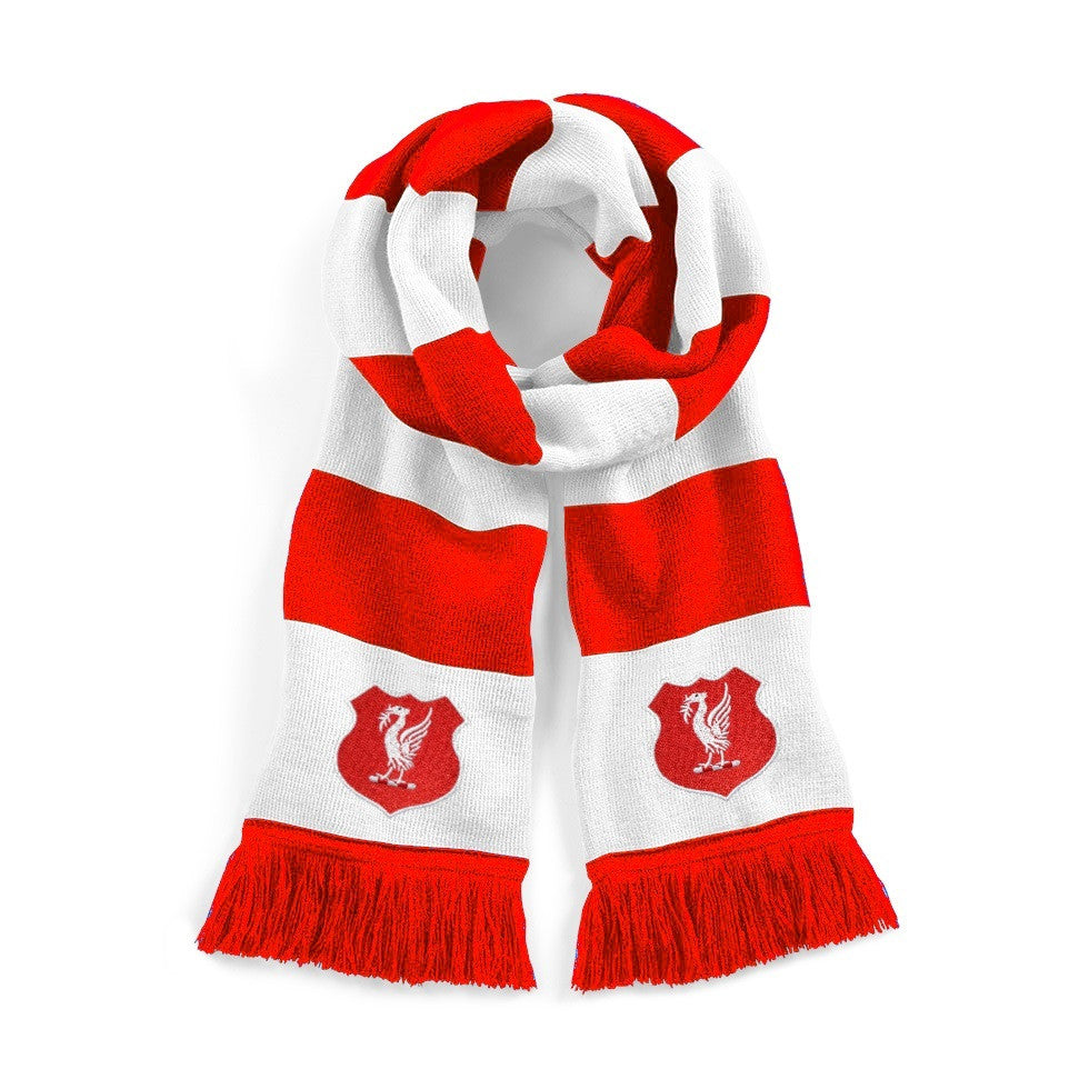 Liverpool Retro Football Scarf - Scarf